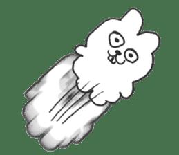 Hodor the bunny sticker #14204308