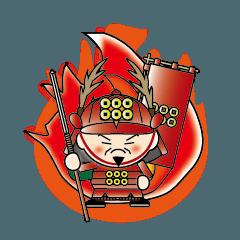 戦国武将スタンプ 日本語バージョン