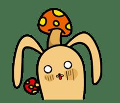 Jiao rabbit sticker #14206839