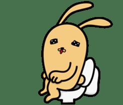 Jiao rabbit sticker #14206841