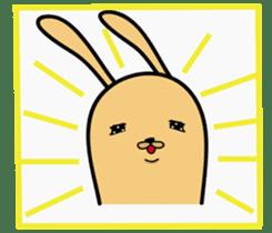Jiao rabbit sticker #14206842