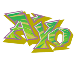 Graffiti Art Stickers sticker #14207104