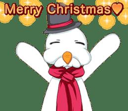 Lovely Santa Girl ~ Holy Night ~English sticker #14215751