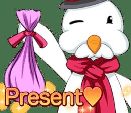 Lovely Santa Girl ~ Holy Night ~English sticker #14215755