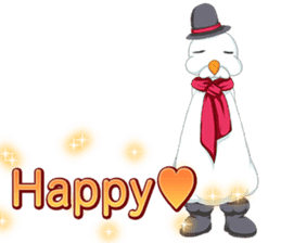 Lovely Santa Girl ~ Holy Night ~English sticker #14215757