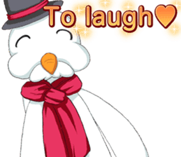 Lovely Santa Girl ~ Holy Night ~English sticker #14215759