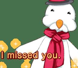 Lovely Santa Girl ~ Holy Night ~English sticker #14215763