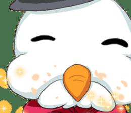 Lovely Santa Girl ~ Holy Night ~English sticker #14215771