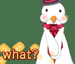 Lovely Santa Girl ~ Holy Night ~English sticker #14215773