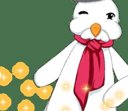 Lovely Santa Girl ~ Holy Night ~English sticker #14215781