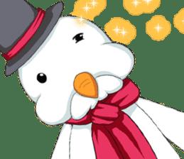 Lovely Santa Girl ~ Holy Night ~English sticker #14215785