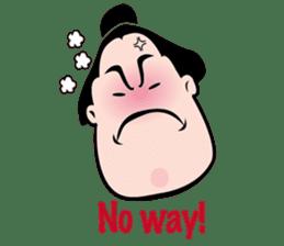 sumo-wrestling Sticker sticker #14217489