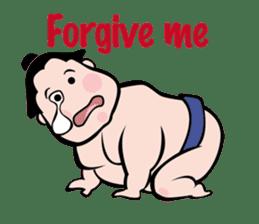 sumo-wrestling Sticker sticker #14217495