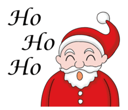 Merry New Year / Happy Christmas sticker #14229850