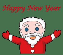 Merry New Year / Happy Christmas sticker #14229852