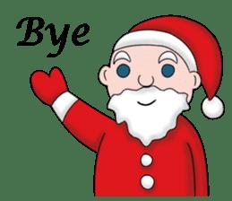 Merry New Year / Happy Christmas sticker #14229853