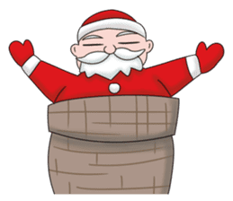 Merry New Year / Happy Christmas sticker #14229860