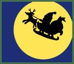 Merry New Year / Happy Christmas sticker #14229866