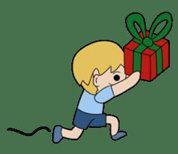 Merry New Year / Happy Christmas sticker #14229873