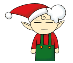 Merry New Year / Happy Christmas sticker #14229874