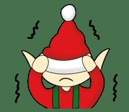 Merry New Year / Happy Christmas sticker #14229875