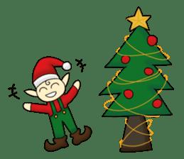 Merry New Year / Happy Christmas sticker #14229877