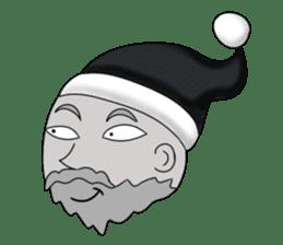 Merry New Year / Happy Christmas sticker #14229884