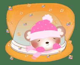 Snow Country Lovely Heart Bear! sticker #14233136