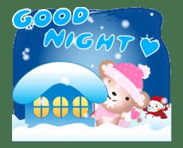 Snow Country Lovely Heart Bear! sticker #14233140