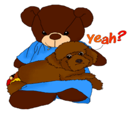 Brownie - The Princess Dog sticker #14234293