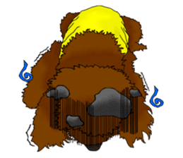 Brownie - The Princess Dog sticker #14234308