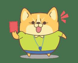 Yogi the Corgi 2 sticker #14238838