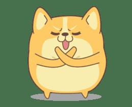 Yogi the Corgi 2 sticker #14238852