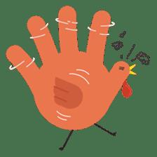 Hand Turkery sticker #14249610