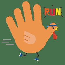 Hand Turkery sticker #14249613