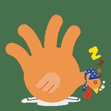 Hand Turkery sticker #14249615