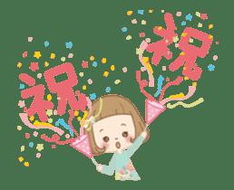 Animation sticker [Congratulations] sticker #14249694