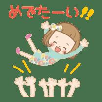 Animation sticker [Congratulations] sticker #14249695