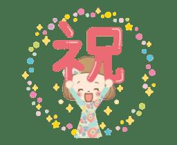 Animation sticker [Congratulations] sticker #14249706
