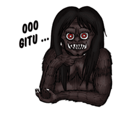 Indonesia Ghost sticker #14252939