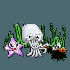 Marine organisms (English)