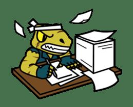 Raptor Cop Animated Stickers sticker #14277997