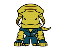 Raptor Cop Animated Stickers sticker #14277998