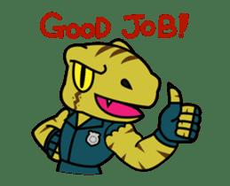 Raptor Cop Animated Stickers sticker #14278002