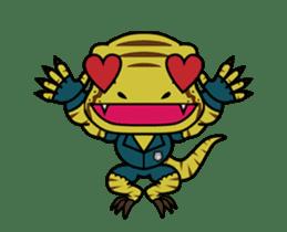 Raptor Cop Animated Stickers sticker #14278003