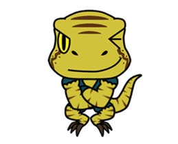 Raptor Cop Animated Stickers sticker #14278011