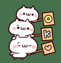 Cat organizations animation! sticker #14284445