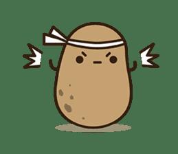 Kawaii Potato sticker #14287238