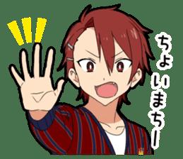 Kansai dialect boy vol.3 sticker #14288300