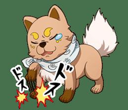SEN-GOKU-SHI sticker #14290027